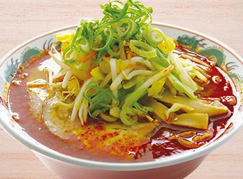 辛みそ野菜ラーメン 並850円(税別)