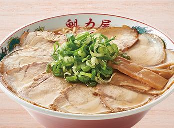特製醤油肉入りラーメン 並850円(税別)