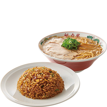 焼きめし定食 +小230円(税別)