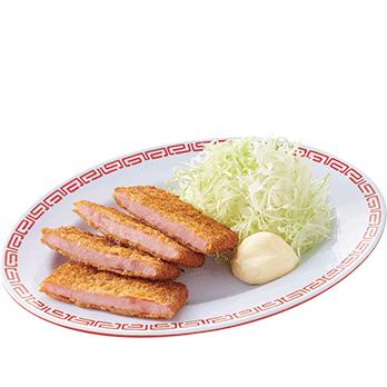 ハムカツ(2枚) 380円(税別)