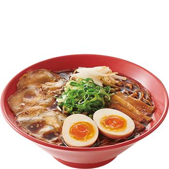 【期間限定】京都漆黒醤油味玉ラーメン 並850円(税別)