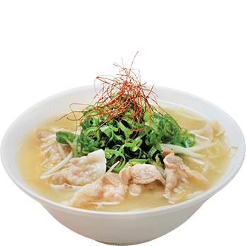 【期間限定】塩肉そば 並750円(税別)
